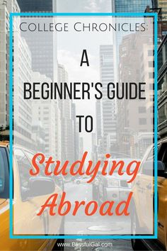 A Beginner's Guide to Studying Abroad - Make the most out of your time in college and take the time to study abroad! There are so many benefits, but do you know where to begin? This post will help you get started! (scheduled via http://www.tailwindapp.com?utm_source=pinterest&utm_medium=twpin&utm_content=post27147106&utm_campaign=scheduler_attribution)