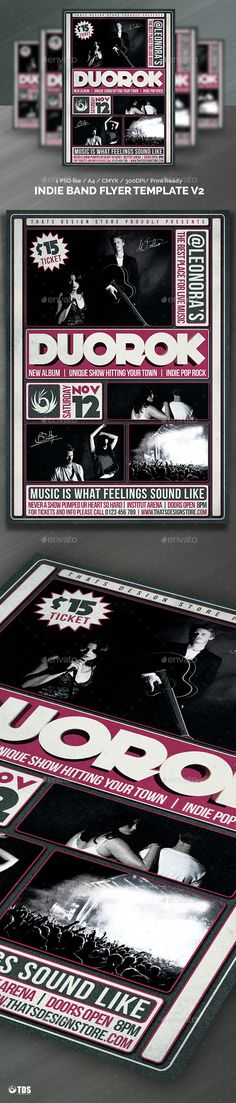 Live Band Flyer Bundle V  Live Band