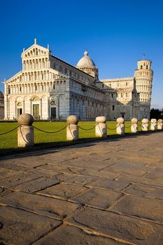 The Duomo and the Leaning Tower - Pisa, Tuscany, Italy