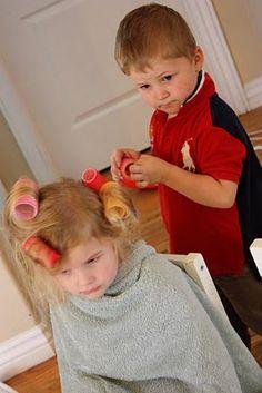 Gnome Sweet Gnome: Hairdresser Preschool