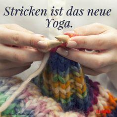 #Stricken ist das neue Yoga.