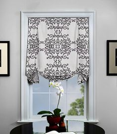 Flat Roman Fabric Shades - Smith & Noble | Windows & Lights ...