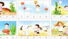 Colección de 40 puzzles numéricos del 1 a 5 Peppa Pig, Puzzles Numeros, Gross Motor, 1st Grades