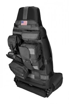 Front Cargo Seat Cover Black 76-13 Jeep CJ/Wrangler - Click Image to Close
