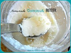 Do you know how to make Coconut Butter? It is creamy slightly sweet, coco-nutty spread. Coconut butter is simply just coconut flakes blended into a buttery consistency. Paleo Recipes, Whole Food Recipes, Cooking Recipes, Cooking Tips, Paleo Sauces, Free Recipes, Egg Free Mayonnaise Recipe, Butter Recipe, Aip Recipe