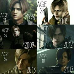 Leon Scott Kennedy. Still hot at age 40. Hehe.