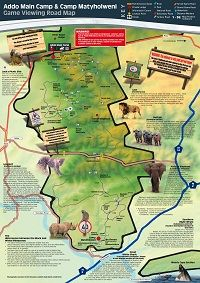 Map of Addo