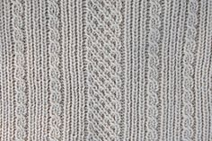 Ravelry: Loom Knit Easy Aran Baby Blanket pattern by Faith Schmidt