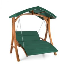 Aruba Hollywood Swing Garden Swing 130 cm Solid Wood - Simply switch off: relaxation in the garden or on the terrace with the Blumfeldt Aruba Hollywood /strong>. Outdoor Hammock Chair, Toy Hammock, Outdoor Chairs, Wooden Swing Set Plans, Wooden Swings, Garden Swing Seat, Patio Swing, Homemade Swing Set, A Frame Swing