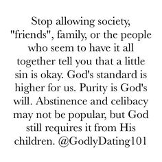 """3,431 Likes, 46 Comments - Godly Dating (@godlydating101) on Instagram: """"As children of God, we can't become desensitized to the nonsense the world tries to normalize."""""""