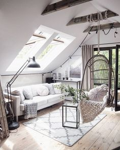 Adopted by the chicest homeowners, hanging chairs – rattan or wicker, draped with cosy cushions, wool throws and repurposed sheepskin rugs – are all the rage right now. It's practically impossible to scroll through Pinterest without spotting one, and the invitingness is undeniable.