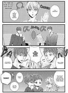 Mpreg Anime, Haikyuu Anime, Akashi Kuroko, Kiseki No Sedai, Akakuro, Black Clover Manga, Haikyuu Wallpaper, Kuroko's Basketball, No Basket