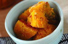 カボチャのゴマ和えのレシピ・作り方 - 簡単プロの料理レシピ | E・レシピ