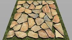 3D Model of stone paving