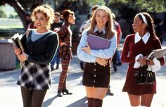 90s fashion: Clueless.   It's returning even if I have to make it happen!