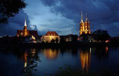 Ostrów Tumski, Wroclaw, Polandb : http://www.carrentalwroclawairport.com