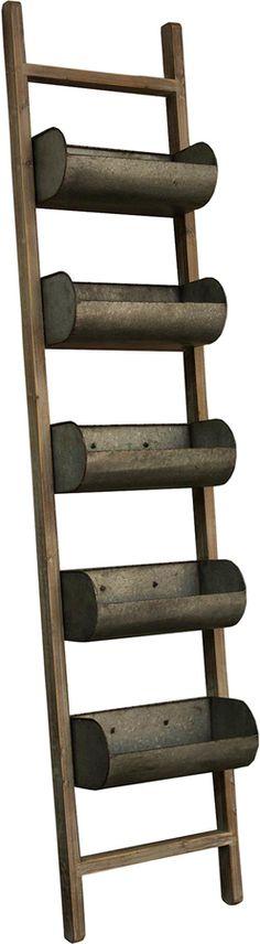 Ladder Planter ~ #fixerupper #fixerupperstyle