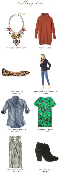 Autumn Favorites via Damsel in Dior