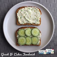 What's for lunch?  Greek Cream Cheese makes it easy to pump up the protein, cut the fat and boost the flavor of your favorite recipe. #SayYesToGreekCreamCheese #WellnessWednesday