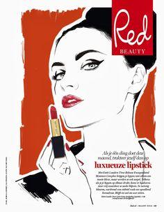 I LOVE ILLUSTRATION /// illustration inspiration: Judith van den Hoek - RED magazine