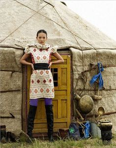 Mongolian fashion