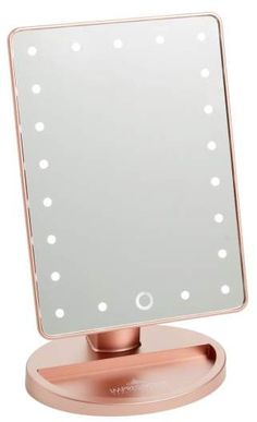 Gold Room Decor, Gold Rooms, Purple Rooms, Cute Room Decor, Girl Room, My Room, Light Up Vanity, Led Makeup Mirror, Moon Decor