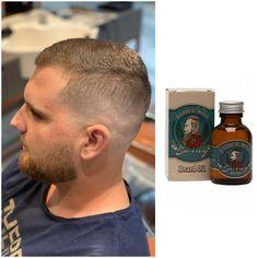 #HowToGetTheLook by Adrian Nita - GETT'S Men Barber Shop Plaza România  Uleiul pentru barba Barber Mind Swing, este un ulei care are in compozita sa 5 uleiuri esentiale pentru ingrijirea barbii, dintre care se remarca in mod special uleiul de macadamia, cu un parfum placut de lavanda. Ofera barbii o stralucire sanatoasa, lasa firele de par netede si moi, hidrateaza firul de par  #gettssalons #gettsmen #barbershop #haircut #barbermind Barber Shop, Get The Look, Barbie, How To Get, Shopping, Barbers, Barbershop, Barbie Dolls