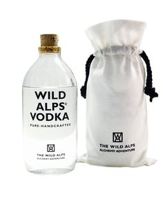 "Handcrafted Vodka, triple distilled from grain with pristine Alpine spring water - this is ""Wild Alps Vodka"" WILD INSIDE. Alps, Vodka, Pure Products, Canvas, Grains, Tela, Canvases, Burlap"