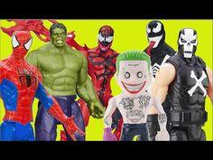 Spider-Man Hulk Carnage Venom Joker Deadshot Crossbones Marvel Suicide S...