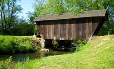 Stovall Mill Bridge. Photo by Roadtrippers.com.