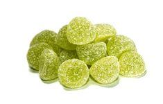 Tag der Gummidrops - National Gumdrop Day in den USA - Februar Gum Drops, Lime, Peach, Candy, Fruit, Usa, Food, Holiday, Limes