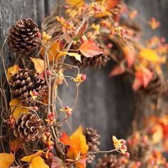 Have you shown your love for fall yet? You've got one more month to get the best out your  seasonal wreath. Click our bio link to shop our newest additions! #FallLove #OutdoorDecor