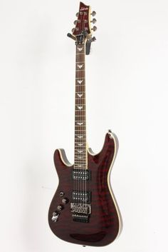Click Image Above To Purchase: Used Schecter Guitar Research Omen Extreme-6 Fr Left-handed Electric Guitar Black Cherry 886830505393