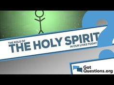 What is the role of the Holy Spirit in our lives today? - YouTube
