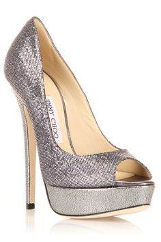 """Jimmy Choo """"Vibe"""" Pumps In Anthracite"""