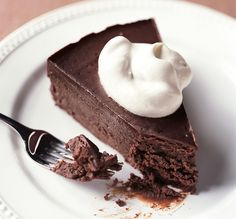I used to make chocolate flourless cake all the time; this is my reminder to pick back up that habit.