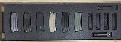 ETI Gun Case Insert | Eaton Tactical Innovations - Knives, Holsters, Gun Case Inserts Iwb Holster, Gun Cases, Tactical Knives, Innovation, Guns, Weapons, Pistols, Sniper Rifles, Rifles