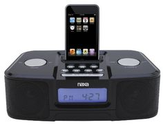 NAXA Electronics NI3103A Digital Alarm Clock Radio with Dock for iPod and iPhone * Check out the image by visiting the link.