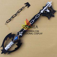 Kingdom Hearts Sora Oblivion Keyblade Cosplay Prop