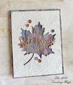 Leaf Cards, Handmade Stamps, Card Tags, Card Kit, Die Cut Cards, Thanksgiving Cards, Fall Cards, Card Sketches, Cute Cards