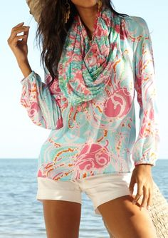 Lilly Pulitzer Elsa Top in Jellies Be Jammin
