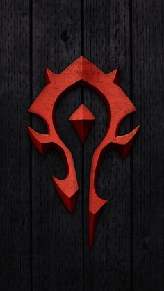 World Of Warcraft u2013 Horde Sign Mobile Wallpaper - Mobiles Wall