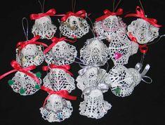 Free holiday Crochet Patterns    Advanced Embroidery Designs - FSL Crochet 3D Christmas Bells.