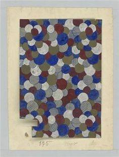 Modèle pour papier peint. Beauvais, MUDO, musée de l'Oise. Photo (C) RMN-Grand Palais / image RMN-GP