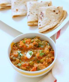 Vegetable Jaipuri Recipe, How to make Vegetable Jaipuri Sabzi - WeRecipes