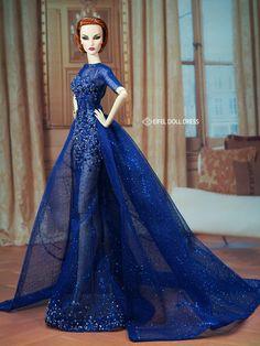 Fine Print Elise | in Eifel Doll Dress