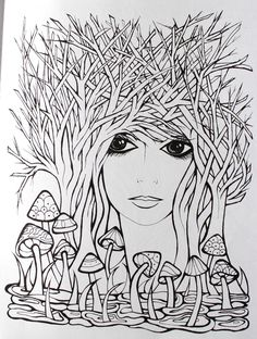 Creative Haven Fanciful Faces Coloring Book (Creative Haven Coloring Books): Miryam Adatto, Creative Haven: 9780486779355: Amazon.com: Books