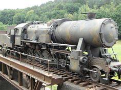 """""""Panzerzug der letzten Stunde - Mähren, April 1945"""" 1/35 scale. By Jens Erdmann. German BR52 Locomotive. TRUMPETER  #scale_model #Steamengine #diorama #WW2"""