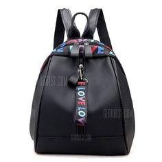 2f2cfe098db1 Nylon Fashion Wild Little Fresh Female Student Travel Backpack