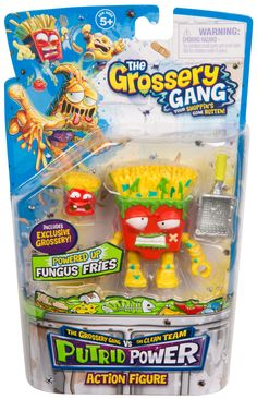 Fungus Fries Action Figure